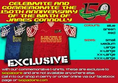James Connolly 150th Anniversary Commemorative Shirt