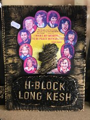 H.Block Long Kesh Plaque