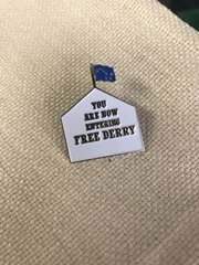 Free Derry Corner Badge