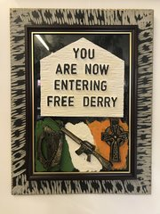 Free Derry Plaque
