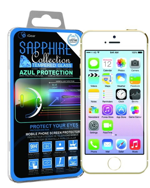 iPhone 4 Sapphire Tempered Glass
