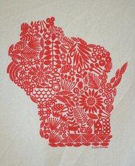 Wisconsin Tea Towel