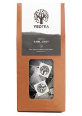 Yeo Tea Earl Grey – Organic Fair Trade Pyramid Teabags