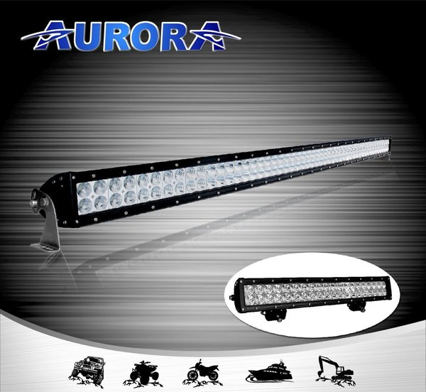 Aurora 50 inch d1 series dual row led light bar usa aurora led aurora 50 inch d1 series dual row led light bar aloadofball Choice Image