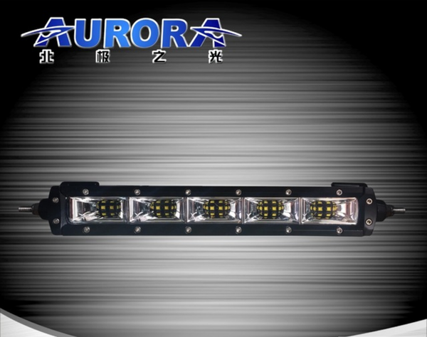 Aurora 10 inch 50 watt slim led scene light bar usa aurora led aurora 10 inch 50 watt slim led scene light bar aloadofball Choice Image