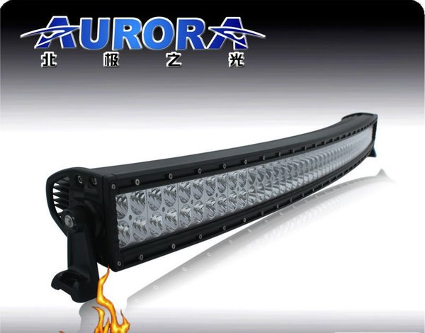 Aurora 40 inch curved dual row led light bar usa aurora led lighting aurora 40 inch curved dual row led light bar aloadofball Image collections