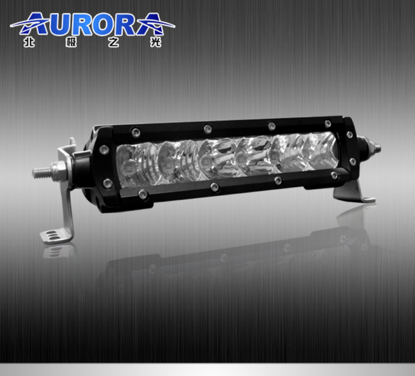 Aurora 6 inch low profile s1 single row led light bar usa aurora aurora 6 inch low profile s1 single row led light bar aloadofball Choice Image