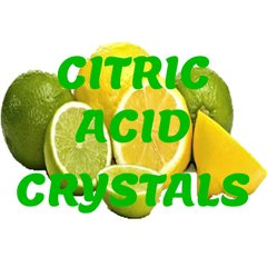 50 grams of 100% pure citric acid crystals