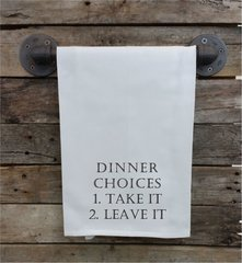 "Rendezvous Kitchen Towel "" Dinner Choices"""