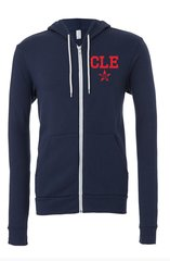 C Land Baseball Fleece Hoodie