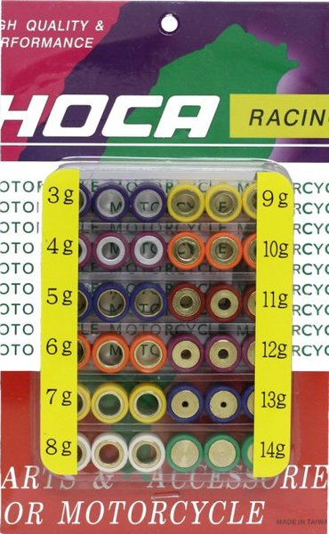 Hoca 16x13 QMB139 Roller Weight Tuning Kit