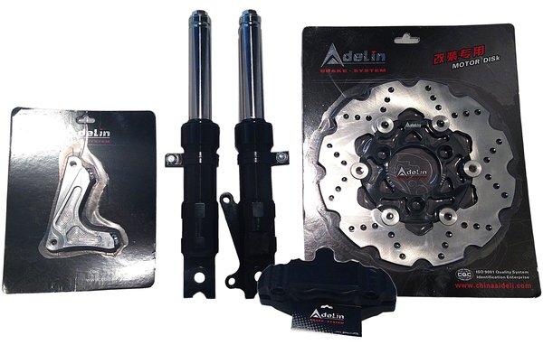 Adelin Front End Kit with upgraded disk brake