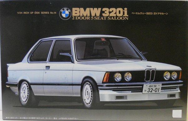 BMW I Door Seat Saloon Fujimi RJM C Plastic Model - Bmw 320i 2 door