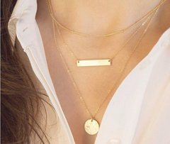 Delicately Coined Necklace