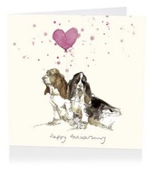 Hounds of Love Anniversary Card