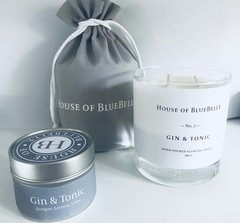 Gin and Tonic Two Wick Candle
