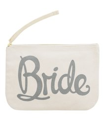 Bride Canvas Pouch