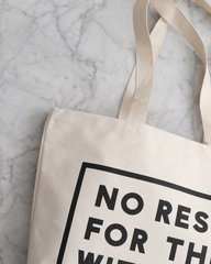 No Rest for the With Kid Large Tote
