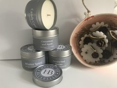House of Bluebelle Travel Tin Candle - Christmas Collection