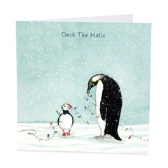 Deck The Halls Christmas Cards (Pack of 6)