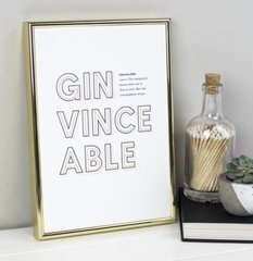 Gin Definition Print