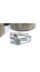 Autumn Love Stacking Rings (set of three)