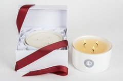 Three Wick Bowl Candles - Christmas Colection