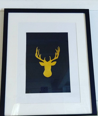 Stag A4 Poster