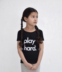 Play Hard Tee - Black
