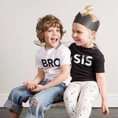 Bro/Sis Tee from Wild Boys & Girls