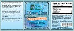 BLUE ICE™ Fermented Cod Liver Oil - Oslo Orange
