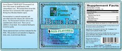 BLUE ICE™ Fermented Cod Liver Oil - Non-Flavored