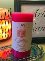 Reiki Love Pillar Candle