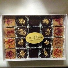 20 piece FRUIT Assortment Handmade Organic Raw Chocolates