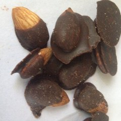 Salty Almonds - Chocolate Covered - 1/4 pound