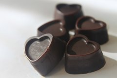 Rum Cherry Hearts - 10 pieces - 3oz - Organic - Raw