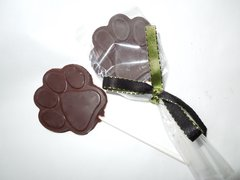 Organic Raw Pure Chocolate Lollipops
