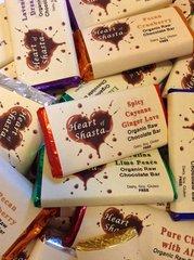 4 Piece Assorted Organic Raw Chocolate Bars
