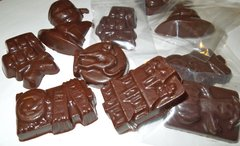 Organic Raw Halloween Chocolates - Assorted Bag