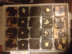 20 pc Organic Raw Dark Chocolate NUTTY Assortment