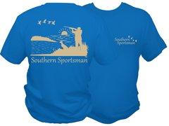 Southern Sportsman Duck Hunt DRI FIT Short Sleeve Shirt