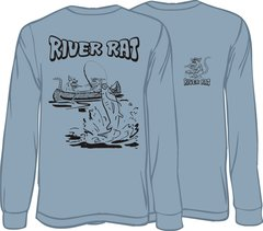 River Rat Long Sleeve T-shirt ( 9 Different Colors )