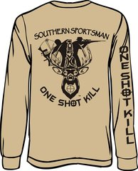 One Shot Kill Long Sleeve T-shirt (9 different colors)