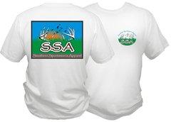 SSA brand logo dry fit shirt