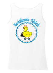 Southern Chick White Tank top - Southern and Sassy Collection