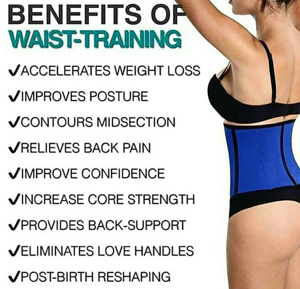 Image result for the benefits of waist trainer during exercise