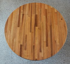 "#1B Red Oak 1-1/2""x 24"" Round Top"