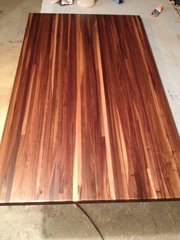 "#2B Walnut Butcher Block Top 1-1/2""x 30""x 36"""