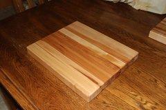 """Hard Maple 12""""x 14"""" Edge Grain Cutting Board"""