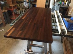 "#4A Walnut Butcher Block Top 1-1/2""x 26""x 60"""